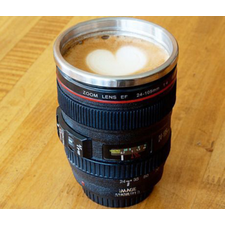Camera Lens Coffee Mug Set of 2
