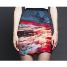 Romance in the Air Skirt