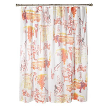 Brooklyn Life Shower Curtain