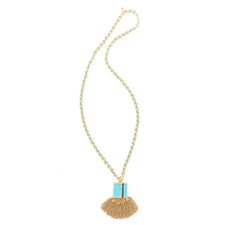Juicy Couture Tassel Pendant Necklace