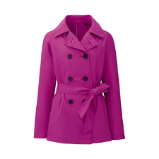 WOMEN Short Trench Coat